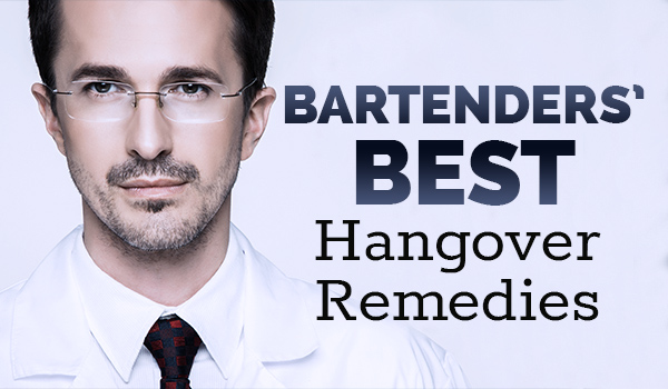 bartenders hangover remedies two views