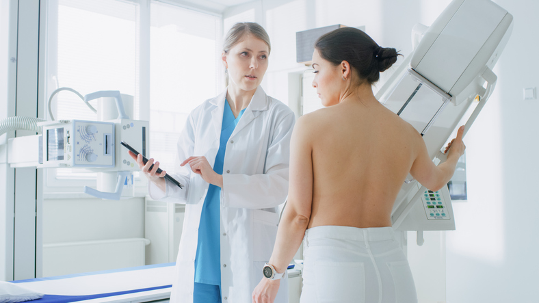 mammography risks two views