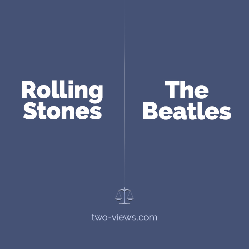 Rolling Stones or The Beatles? Two views